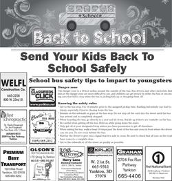 Back to School Safety 2014